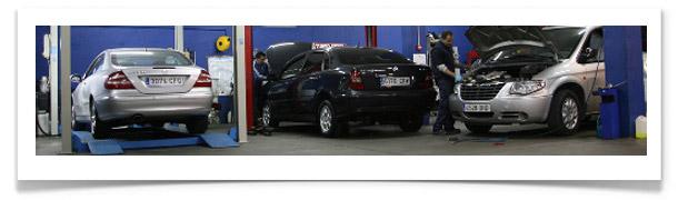 taller mecánico de coches